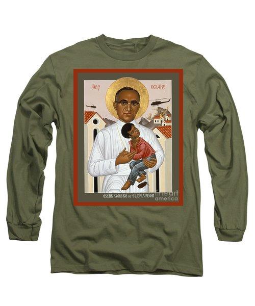 St. Oscar Romero Of El Salvado - Rlosr Long Sleeve T-Shirt