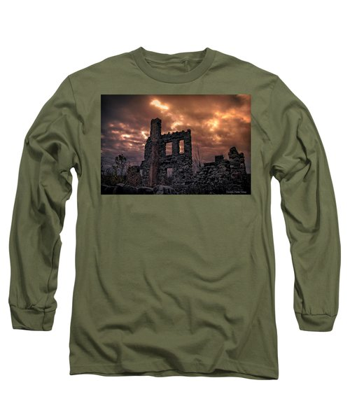 Osler Castle Long Sleeve T-Shirt by Michaela Preston