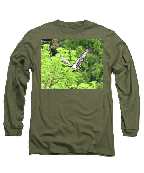 Osprey Fishing Long Sleeve T-Shirt