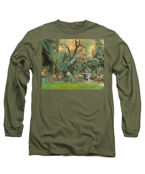 Our Little Garden Long Sleeve T-Shirt by Guido Borelli