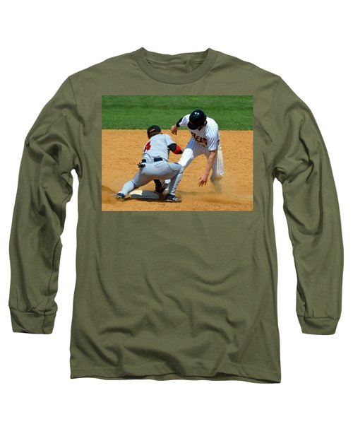 Out At Second Long Sleeve T-Shirt