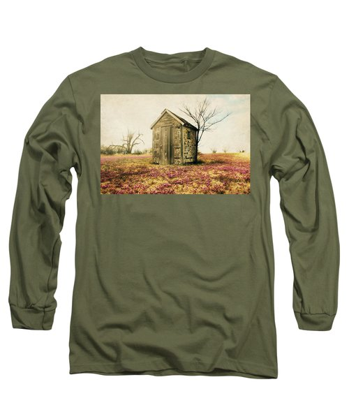 Outhouse Long Sleeve T-Shirt by Julie Hamilton