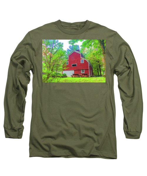 Out In The Country Long Sleeve T-Shirt by Jim Lepard