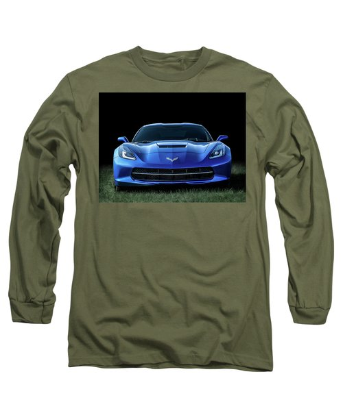 Out Of The Blue Long Sleeve T-Shirt by Douglas Pittman