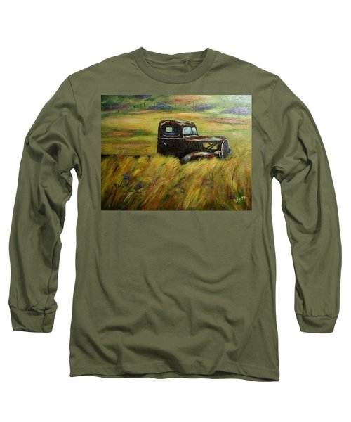 Out To Pasture Long Sleeve T-Shirt by Gail Kirtz