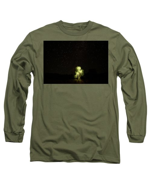 Long Sleeve T-Shirt featuring the photograph Outback Light by Paul Svensen