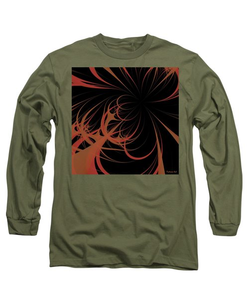 Long Sleeve T-Shirt featuring the digital art Outbreak by Dragica  Micki Fortuna
