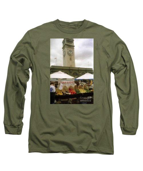 Outdoor Farmers Market Long Sleeve T-Shirt