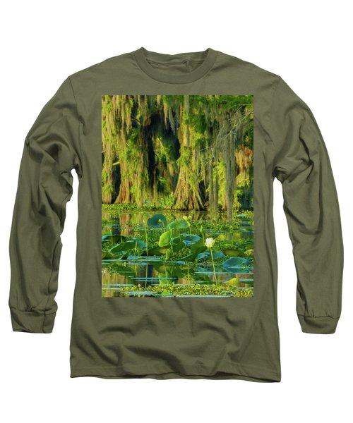 Outstanding Lotus Long Sleeve T-Shirt