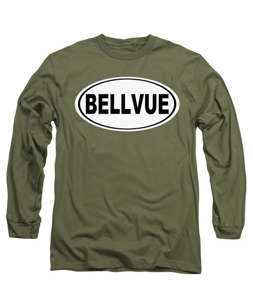 Long Sleeve T-Shirt featuring the photograph Oval Bellvue Colorado Home Pride by Keith Webber Jr