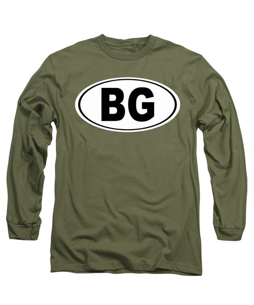 Long Sleeve T-Shirt featuring the photograph Oval Bg Bowling Green Kentucky Home Pride by Keith Webber Jr