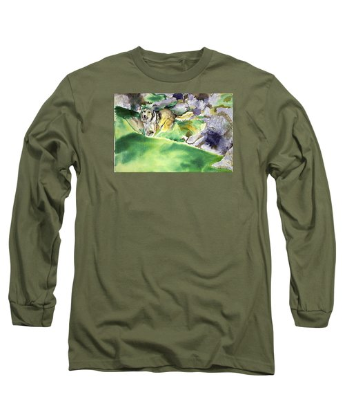 Over The Hill With Shep Long Sleeve T-Shirt