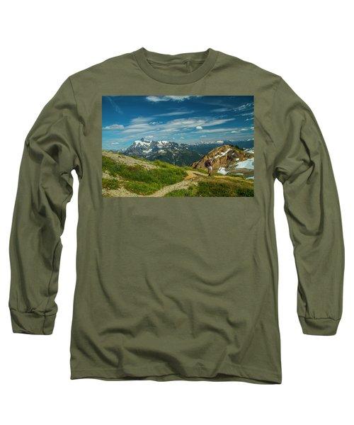 Overlooking Shuksan Long Sleeve T-Shirt