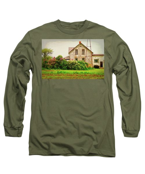 Overlooking The Hedge Long Sleeve T-Shirt