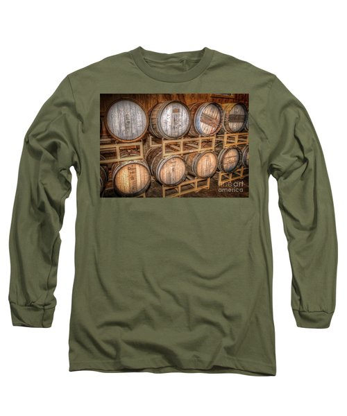 Owl's Eye Winery Long Sleeve T-Shirt by Marion Johnson