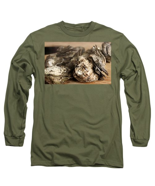 Oyster Roast Long Sleeve T-Shirt by Greg Simmons
