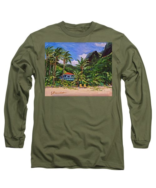 Long Sleeve T-Shirt featuring the painting P F by Jennifer Beaudet
