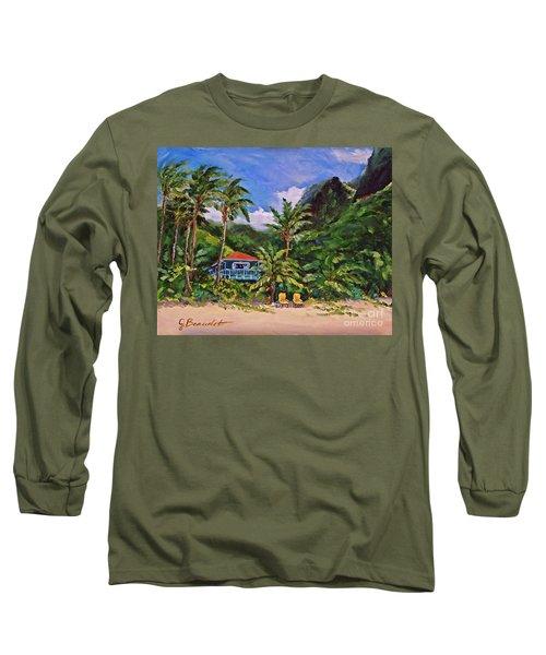 P F Long Sleeve T-Shirt by Jennifer Beaudet