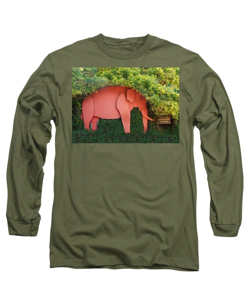 Pachyderm Sign Long Sleeve T-Shirt