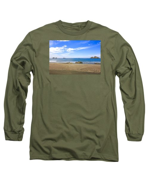 Pacific California Long Sleeve T-Shirt by Chris Smith
