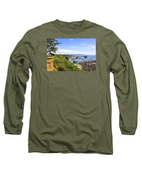 Pacific Coastline In California Long Sleeve T-Shirt