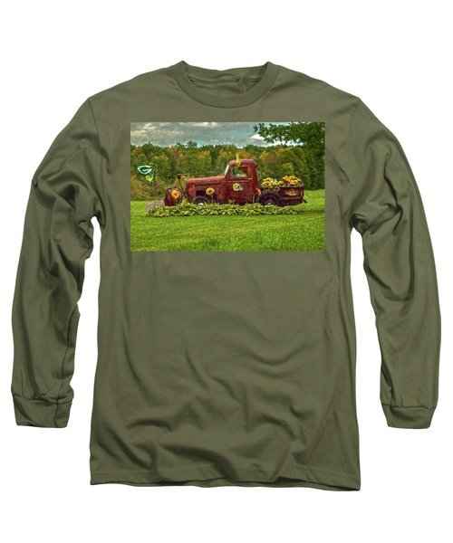 Packers Plow Long Sleeve T-Shirt by Trey Foerster