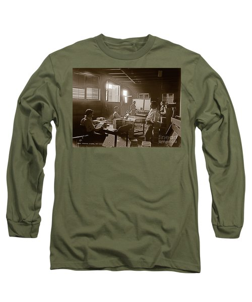 Long Sleeve T-Shirt featuring the photograph Packing Cigars Key West Florida by John Stephens