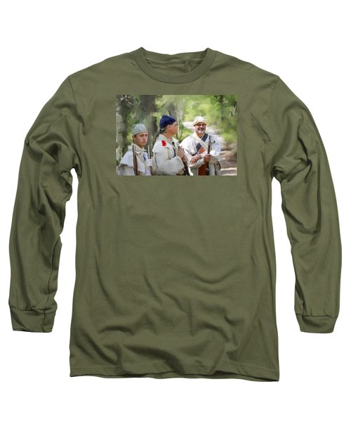 Page 8 Long Sleeve T-Shirt