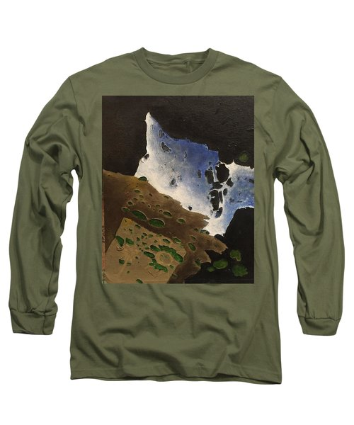 Pages Long Sleeve T-Shirt by Steve  Hester