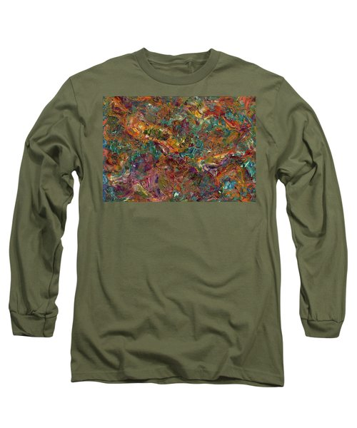 Paint Number 16 Long Sleeve T-Shirt