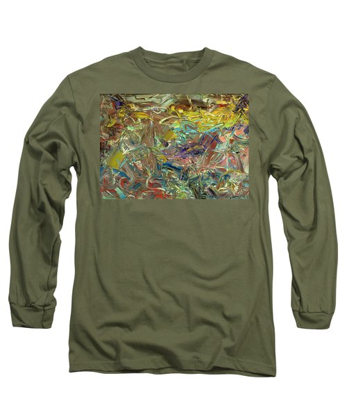 Paint Number46 Long Sleeve T-Shirt