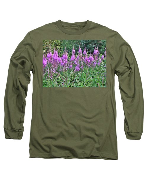 Painted Fireweed Long Sleeve T-Shirt