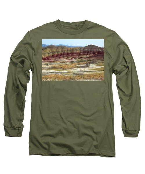 Painted Hills View From Overlook Long Sleeve T-Shirt