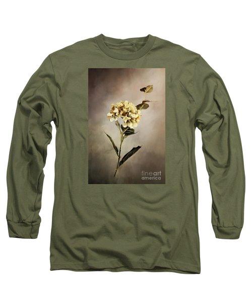 Painted Hydrangeas Long Sleeve T-Shirt