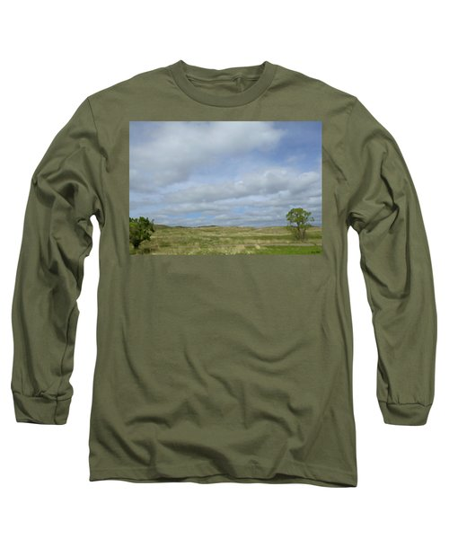 Painted Plains Long Sleeve T-Shirt by JoAnn Lense