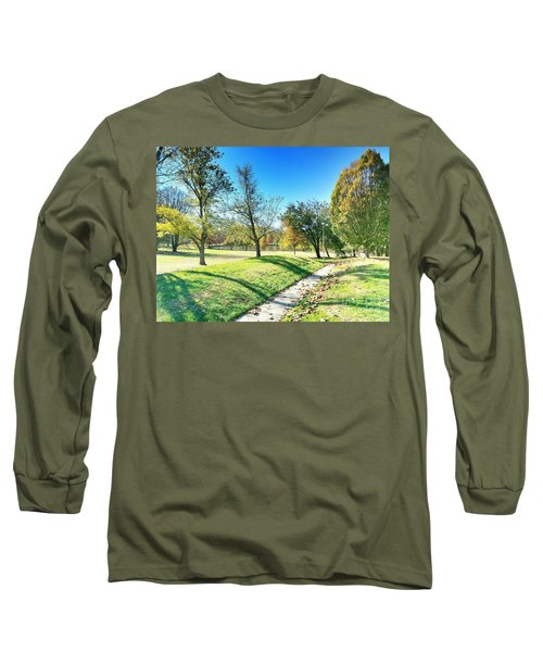 Painting With Shadows - Park Day Long Sleeve T-Shirt