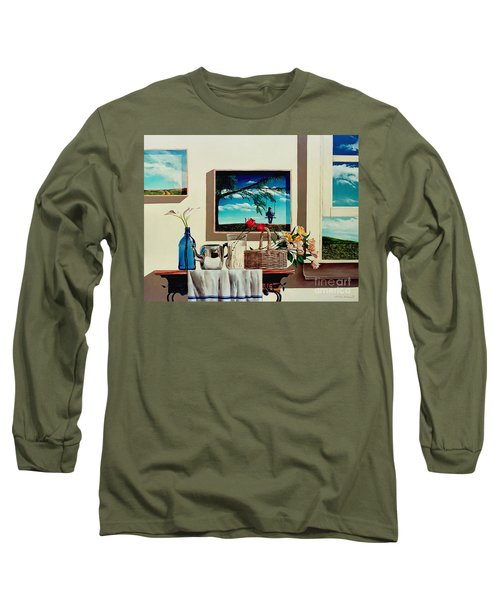 Paintings Within A Painting Long Sleeve T-Shirt