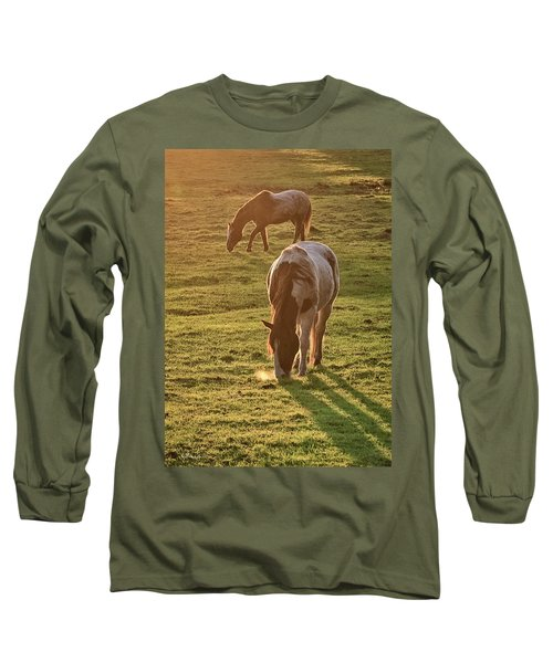 Paints Backlit Long Sleeve T-Shirt