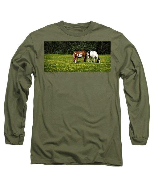 Paints N Buttercups 2 Long Sleeve T-Shirt