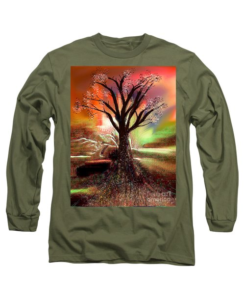 Pale Moonlight 2 Long Sleeve T-Shirt