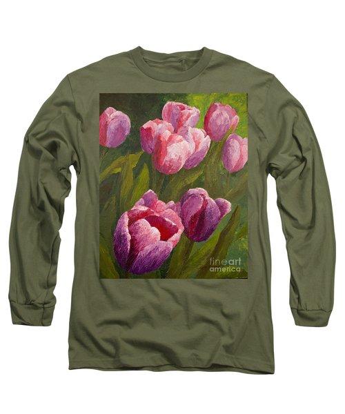 Palette Tulips Long Sleeve T-Shirt