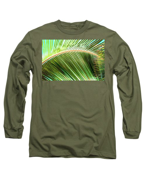 Palm Frond Sway Long Sleeve T-Shirt
