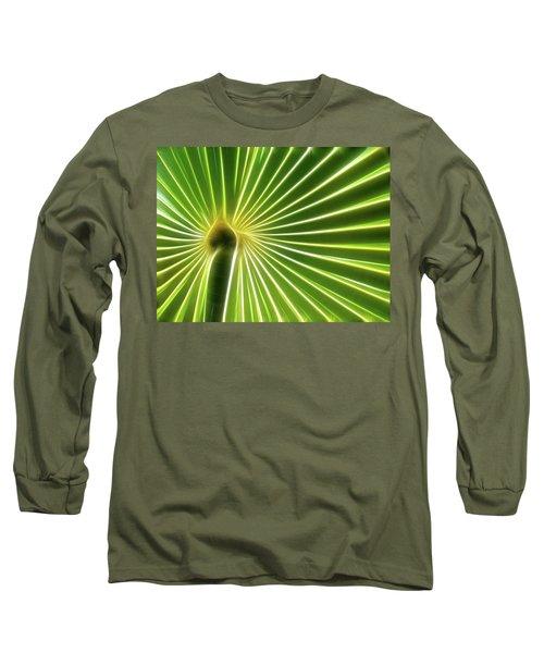 Palm Glow Long Sleeve T-Shirt
