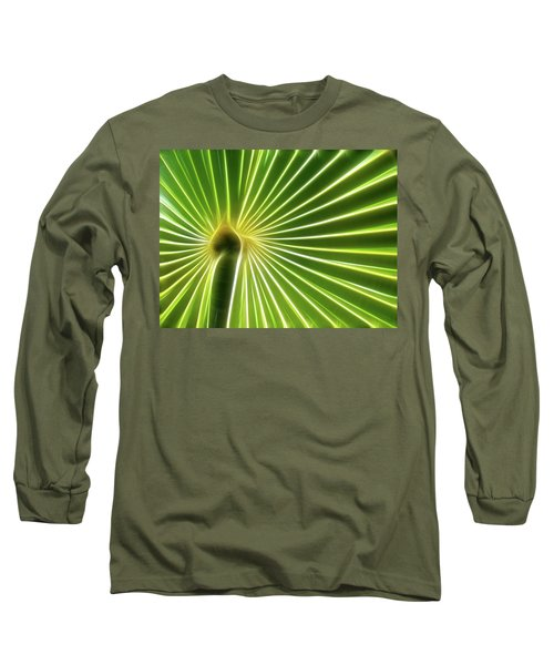 Palm Glow Long Sleeve T-Shirt