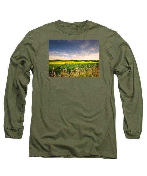 Long Sleeve T-Shirt featuring the photograph Palouse Bounty by Dan Mihai