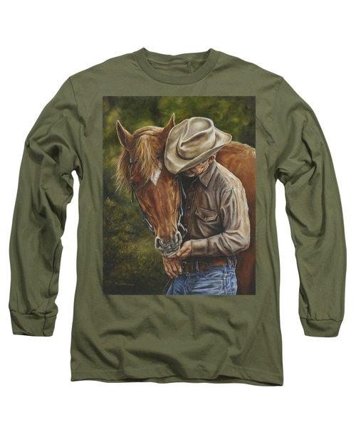 Pals Long Sleeve T-Shirt by Kim Lockman