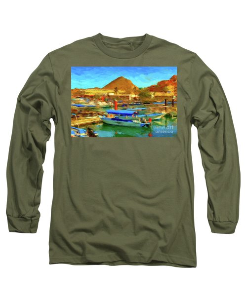 Pangas With Land's End Long Sleeve T-Shirt by Gerhardt Isringhaus