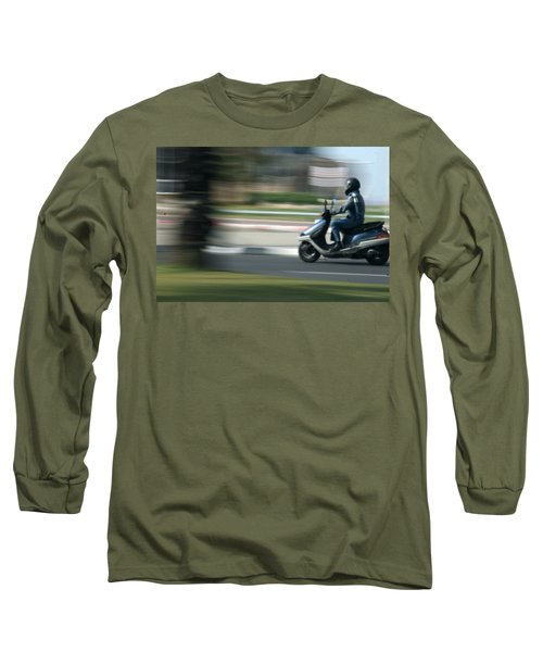 Panning At Tel Aviv Long Sleeve T-Shirt