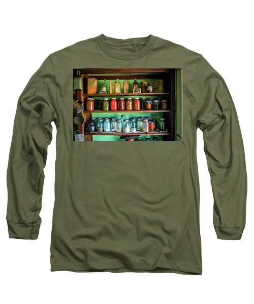 Long Sleeve T-Shirt featuring the photograph Pantry by Paul Freidlund