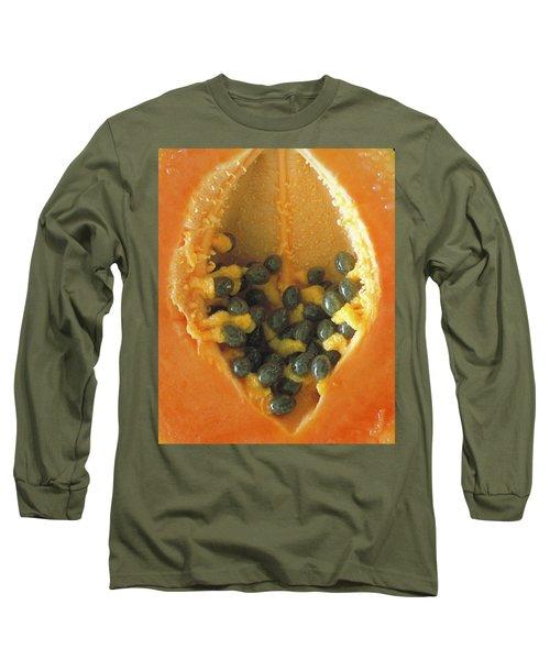 Papaya Long Sleeve T-Shirt